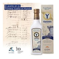 6 botellas de aceite virgen extra Ybarra IVM