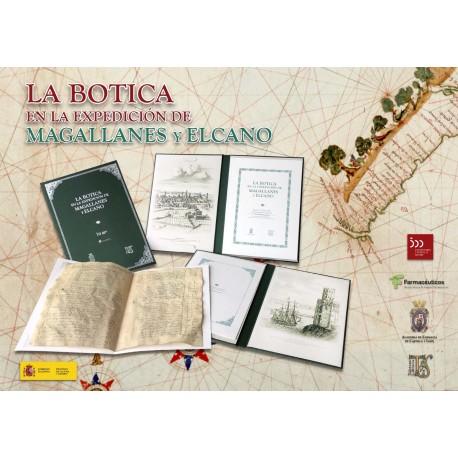 """Edición fascimilar """"La Botica en la expedición de Magallanes-Elcano"""""""