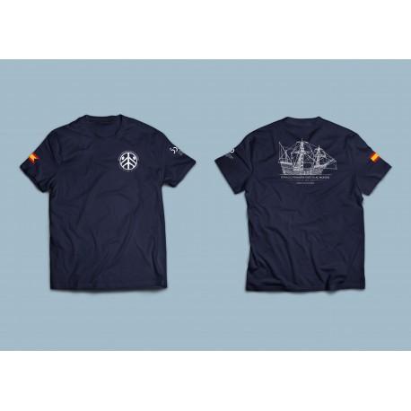 Camiseta perfil barco EIVM