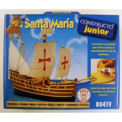 Maqueta Santa María para niños