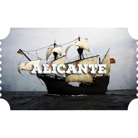 Alicante, Nao Victoria (March 28th to 31st)
