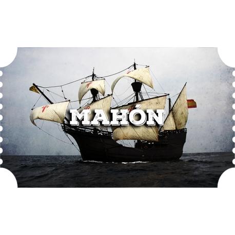 Mahón, Nao Victoria (12/4 - 21/4)
