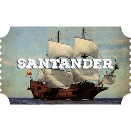 Santander Festival del mar, Galeón (12/9 - 15/9)
