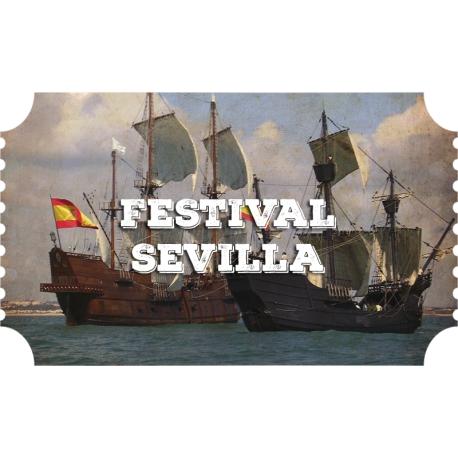 Festival Marítimo V centenario Sevilla (3/10 - 14/10)